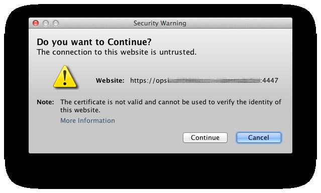 OPSI eigenes SSL Zertifikat - forum.opsi.org